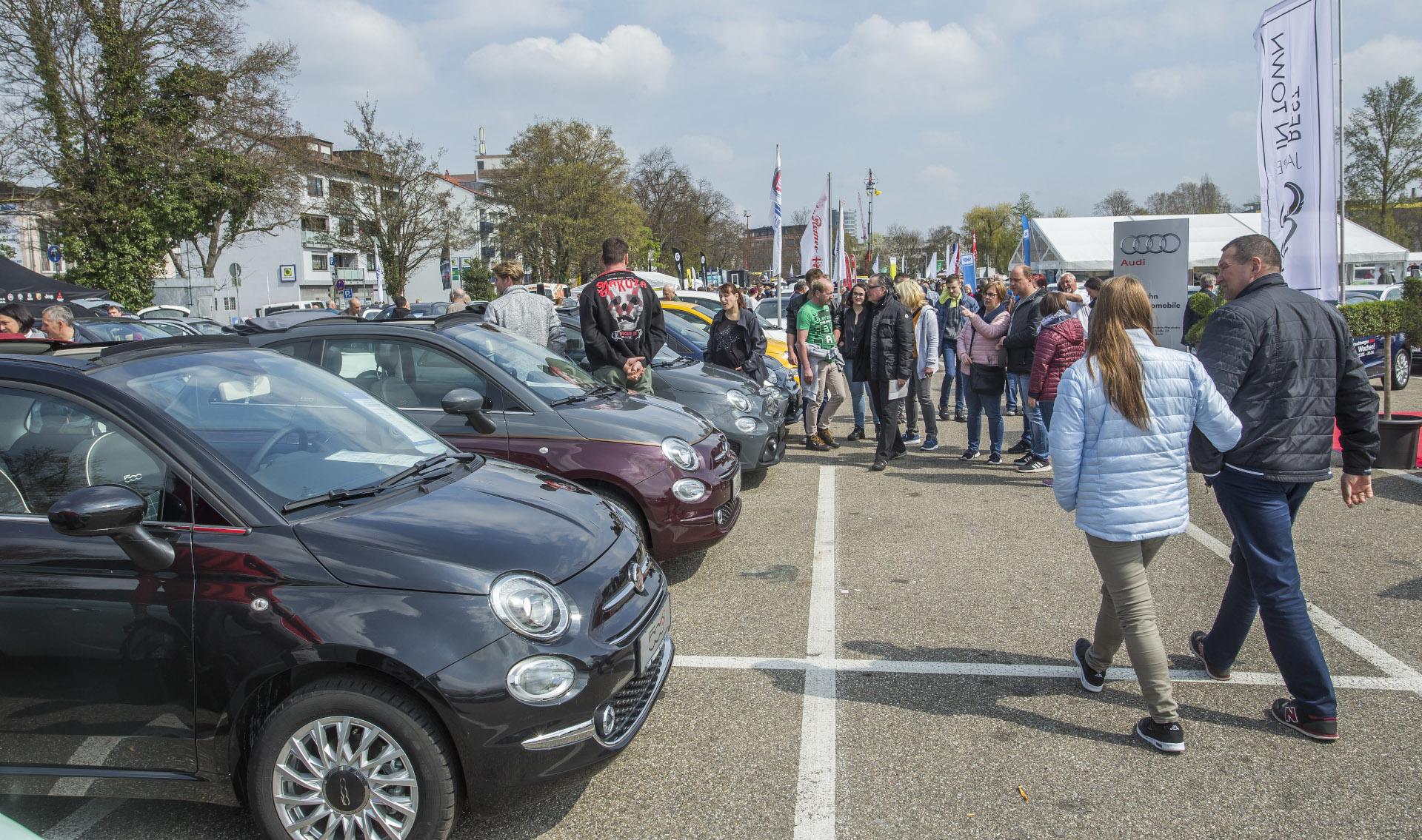 Tausende besuchen jedes Jahr den Pforzheimer Automarkt